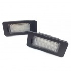 Pack LED plaque immatriculation BMW Serie X5 E70 F15