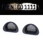 LED plaque immatriculation PEUGEOT 107 Citroen C1