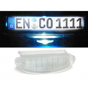 Pack LED plaque immatriculation Renault Twingo 1 93-07 Clio 2 98-05
