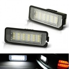 Pack LED plaque immatriculation VW POLO