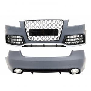 Kit carrosserie AUDI A5 Coupe Cab 07-11 - Look RS5 - Noir