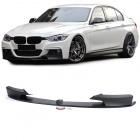 Spoiler lame de pare choc - BMW Serie 3 F30 F31 -11-15 - look mperf - noir
