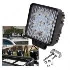Feu de travail 9 LED projecteur haute puissance 27W - Blanc Pur