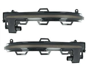 2 Clignotants retro dynamiques LED BMW X3 X4 X5 X6 - Noir