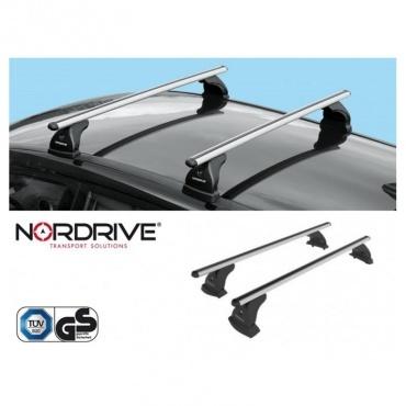 NORDRIVE Barres de toit EVOS ALUMIA Alu BMW Serie 1 E81 E87