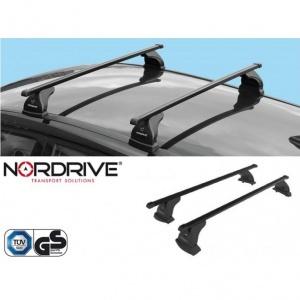 NORDRIVE Barres de toit EVOS QUADRA Acier BMW Serie 1 E81 E87
