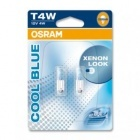 Pack 2 ampoules T4W Osram Cool Blue