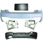 Pare choc arriere BMW Serie 1 F20/21 2011 PACK M - PDC