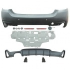 Pare choc arriere BMW Serie 4 F32 F33 F36 look M-perf - PDC