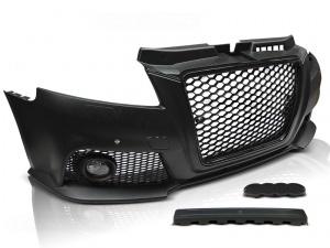 Pare choc avant AUDI A3 08-12 Look RS3 - parctronic Noir