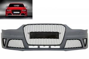 Pare choc avant AUDI A4 B8 phase 2 11-15 - Look RS4 - Noir