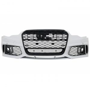 Pare choc avant AUDI A6 C7 11-14 - Look RS6 - Noir