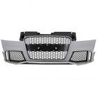 Pare choc avant AUDI TT 8J 06-14 - Look TTRS - Noir chrome