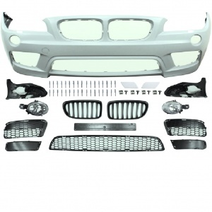 Pare choc avant BMW X1 E84 09-12 look PACK M - PDC