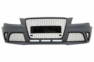 Pare choc avant AUDI A4 B8 phase 1 08-11 - Look RS4 - Noir