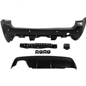 Pare choc arriere BMW Serie 5 E61 touring 03-07 PACK M - PDC