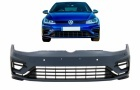 Pare choc avant VW Golf 7.5 (VII) - phase 2 - 17-19 look R - PDC