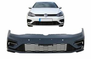 Pare choc avant VW Golf 7.5 (VII) - phase 2 - 17-19 look Rline - PDC