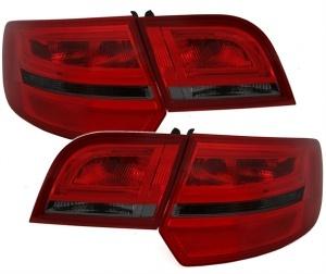 Feux AUDI A3 8PA Sportback LED 04-08 rouge teinté