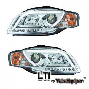 Phares LED AUDI A4 B7 (8E) 04-07 - LTI - Chrome