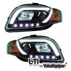 Phares LED AUDI A4 B7 (8E) 04-07 - LTI - Noir