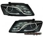 Phares avant Audi Q5 08-12 LED - Noir