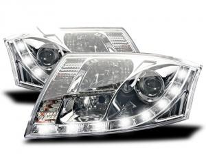 Projecteurs LED Audi TT (8N) - Chrome