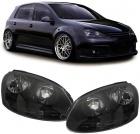 Phares avant VW Golf 5 03-09 - VW Jetta 05 - Noir