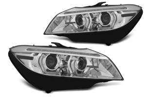 Phares xenon BMW Z4 (E89) Angel Eyes LED 3D dynamiques - 09-13 - Chrome