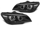 Phares xenon BMW Z4 (E89) Angel Eyes LED 3D dynamiques - 09-13 - Noir