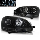 Phares avant VW Golf 5 03-09 Angel Eyes CCFL - Noir