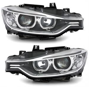 Phares xenon BMW Serie 3 F30 - DEPO V2 LED 11-15 - Noir