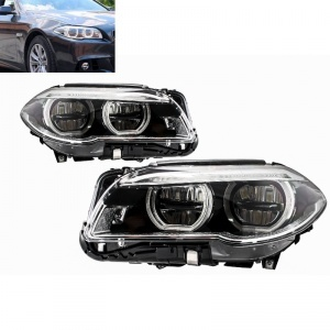 Phares FullLED BMW F10 F11 LCI 14-17 - Angel Eyes