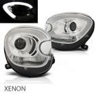 Phares xenon avant Mini Countryman R60 R61 LED 10-14 - Chrome