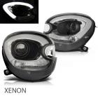 Phares xenon avant Mini Countryman R60 R61 LED 10-14 - Noir
