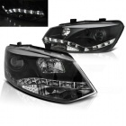 Phares avant VW Polo 6R 09-14 - Devil LED - noir
