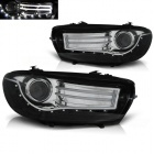 Phares avant VW Scirocco Devil Eyes LED LTI - Noir