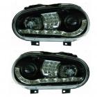 Phares VW GOLF 4 Dragon light LED - Noir