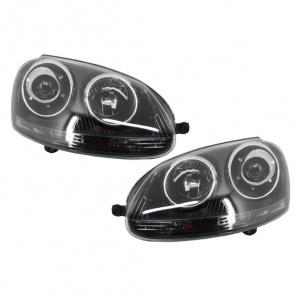 2 Phares avant VW golf 5 style GTI - Noir