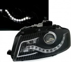 Phares avant Audi A3 8P Devil Eyes LED - Noir