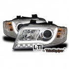 Phares avant AUDI A4 (B6) - LTI - Chrome