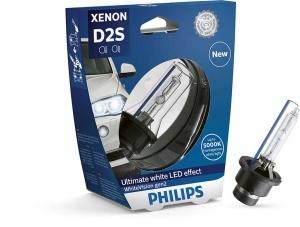 Philips D2S 85122WHV2 White Vision gen2