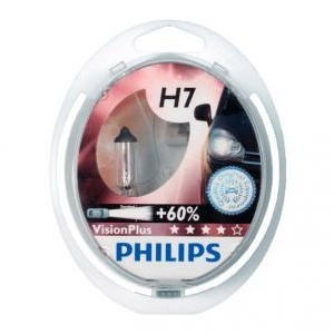 Pack 2 ampoules H7 Philips Vision Plus