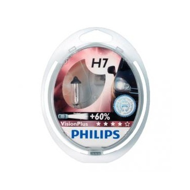2 ampoules h7 philips vision plus yakaequiper. Black Bedroom Furniture Sets. Home Design Ideas