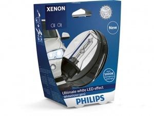 Ampoule xenon Philips D1S 85415WHV2 White Vision gen2