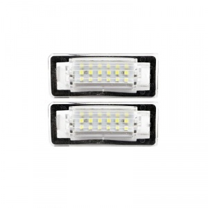 Pack LED plaque immatriculation AUDI TT 8N 99-06