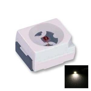 LED cms PLCC2 3528 - Jaune - 200mcd