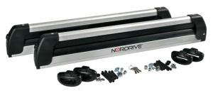 NORDRIVE Porte skis aluminium Pro slider EVO PS-60