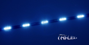 Bande Flexible TRI-LED 5050 - 30cm - Bleu