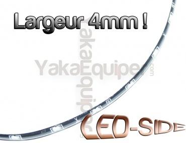 Pack Bande Flexible LED SIDE - 15cm - Eclairage de coté - Feux de jour - Blanc Xenon
